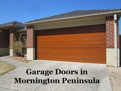 Page 1. Garage Doors in Mornington Peninsula & Garage Doors Mornington Peninsula by Andrew Mark - issuu