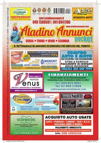 Aladino 16 2015 by Aladino Annunci - issuu
