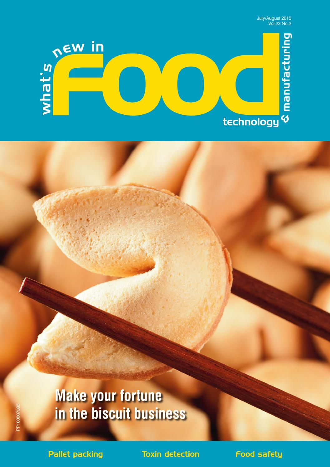 What S New In Food Technology Jul Aug 2015 By Westwick Farrow Media