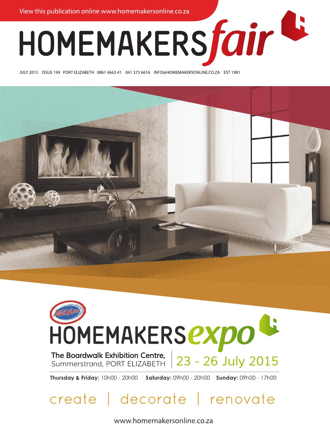 HOMEMAKERSfair Port Elizabeth July 2015 By HOMEMAKERS