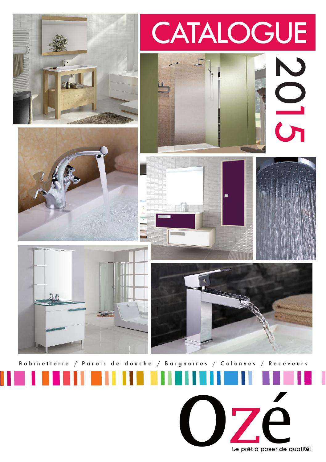 Connu Catalogue oze 2015 bd mufraggi materiaux copie by GENESE - issuu KU37