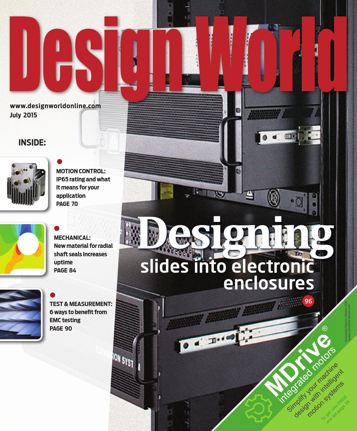 Design World July 2015 By Wtwh Media Llc Issuu Your Diagram Http Farm4 Static Drum Switches And Rotary Cam
