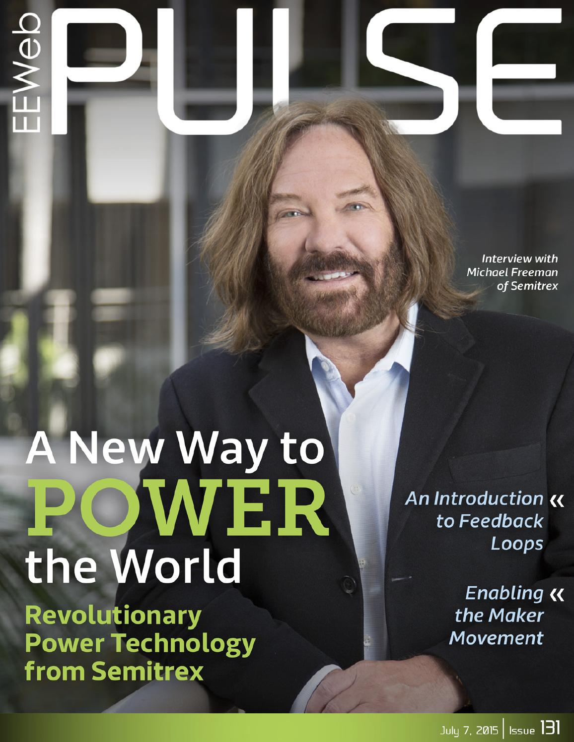 Pulse Magazine July 2015 By Eeweb Magazines Issuu Selfpowered Op Amp To Create Lowleakage Rectifier Community