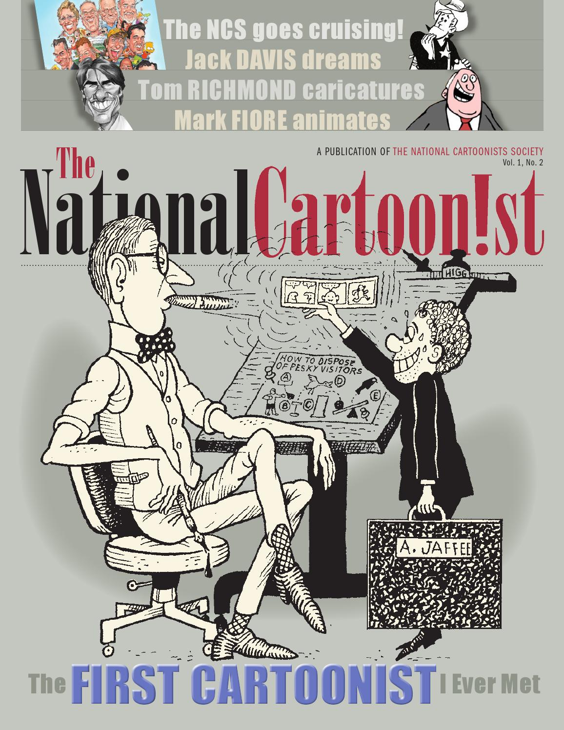 The National Cartoon!st Issue 2 by National Cartoonists Society - issuu