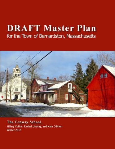 Bernardston Draft Master Plan By The Conway School Issuu