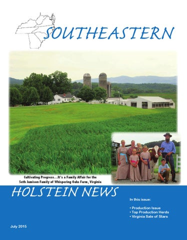 09f0524c Southeastern Holstein News July 2015 by Dairy Agenda Today - issuu