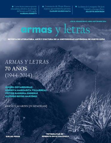 Armas y Letras 86-87 by Revista Armas y Letras - issuu 31f403d3455