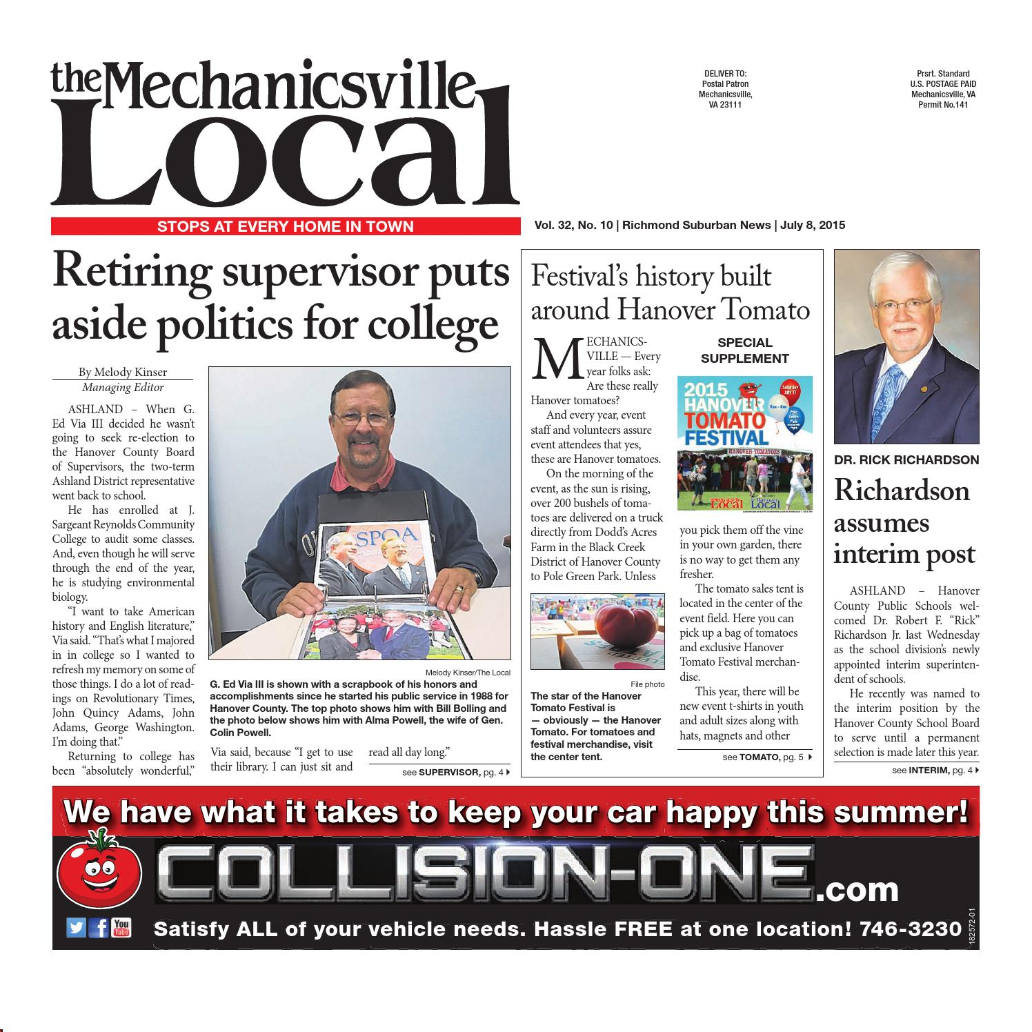 07/08/2015 by The Mechanicsville Local - issuu