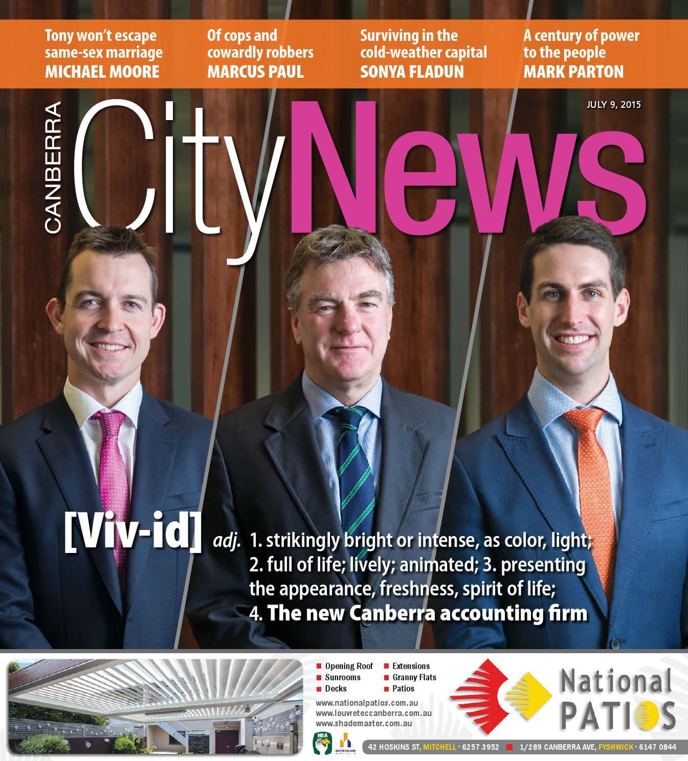 150709 Citynews By Canberra CityNews