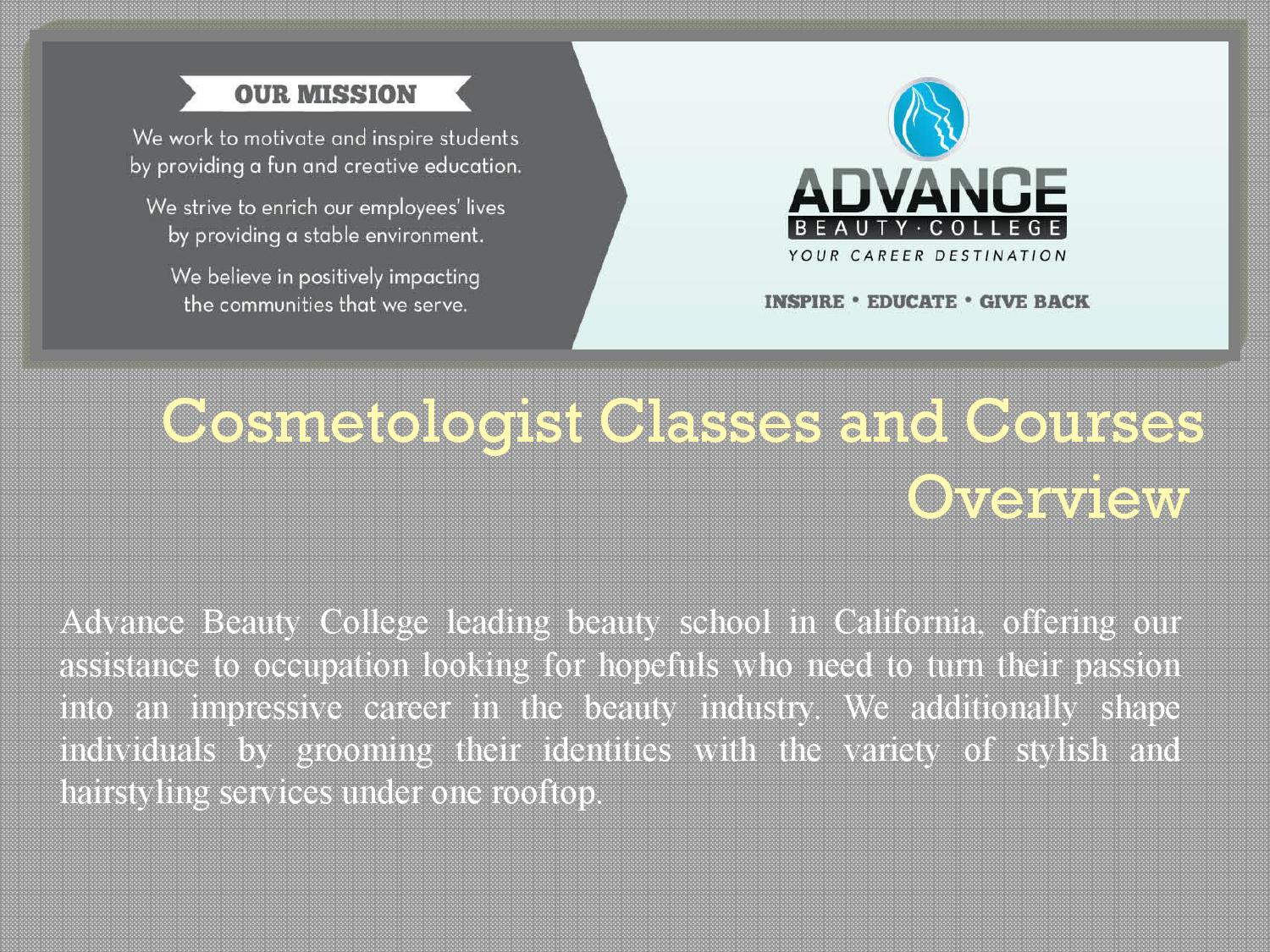 Cosmetician courses 35