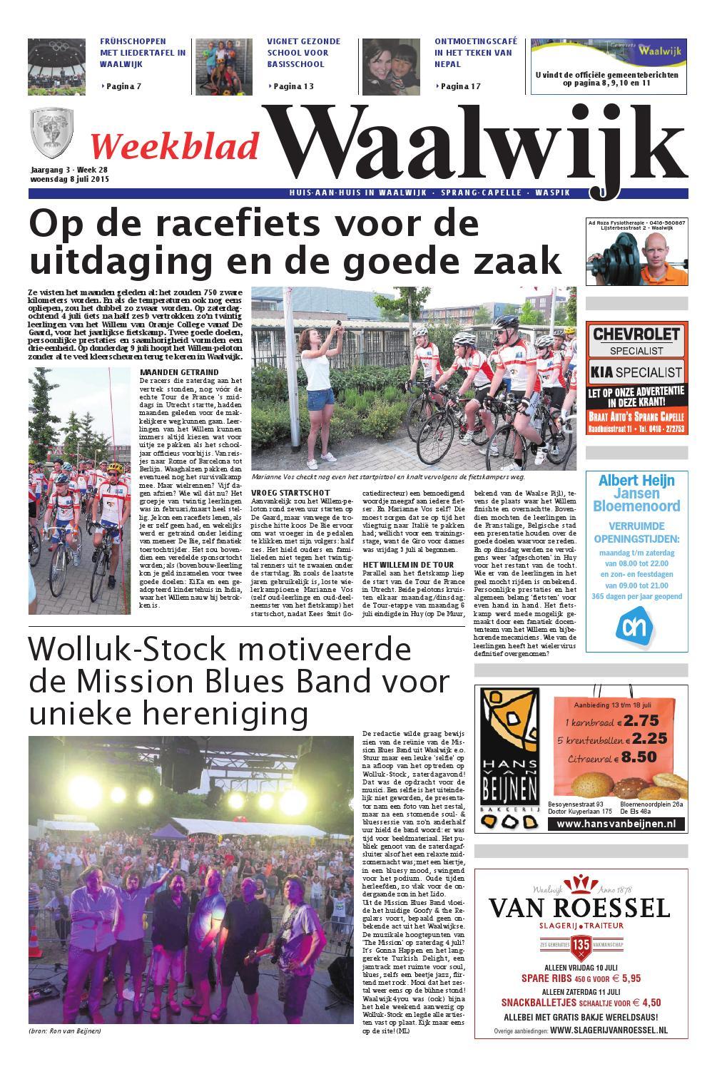 Loodveter 100 Gram.Weekblad Waalwijk 08 07 2015 By Uitgeverij Em De Jong Issuu
