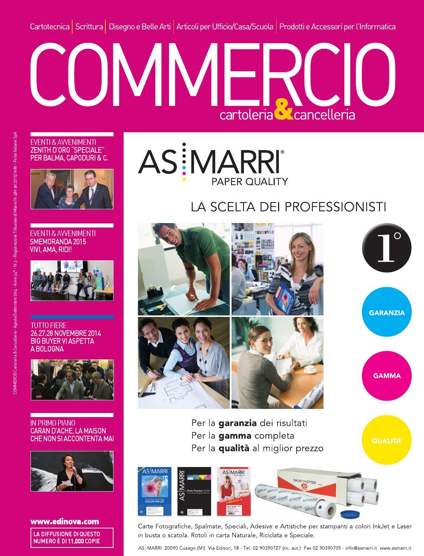 Commercio Cartoleria Cancelleria Agosto Settembre 2014 By