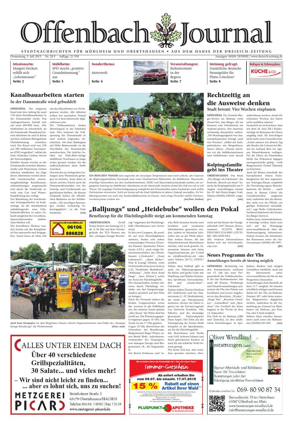 121634c958d64 Dz online 028 15 f by Dreieich-Zeitung Offenbach-Journal - issuu