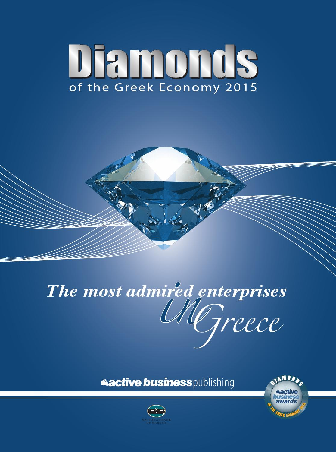 Diamonds2 of the Greek Economy 2015 by NewTimes - issuu 1f0875a0188