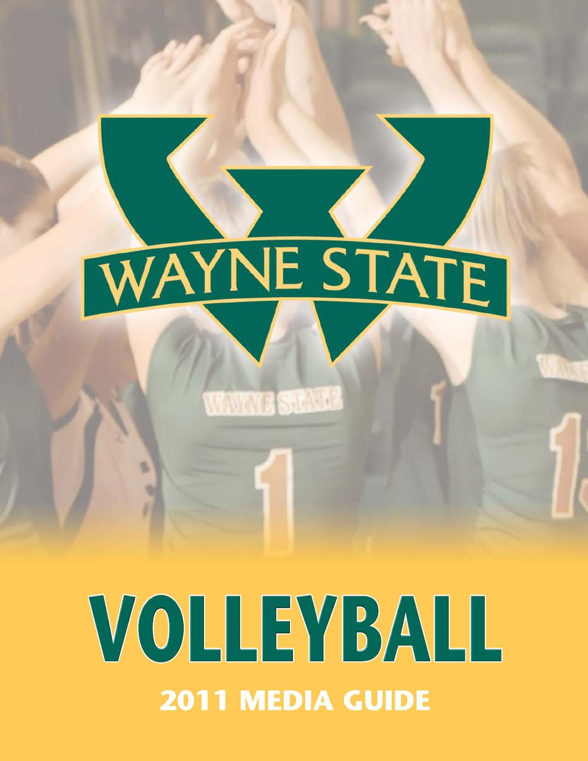 2011 wayne state university volleyball media guide by wayne state.
