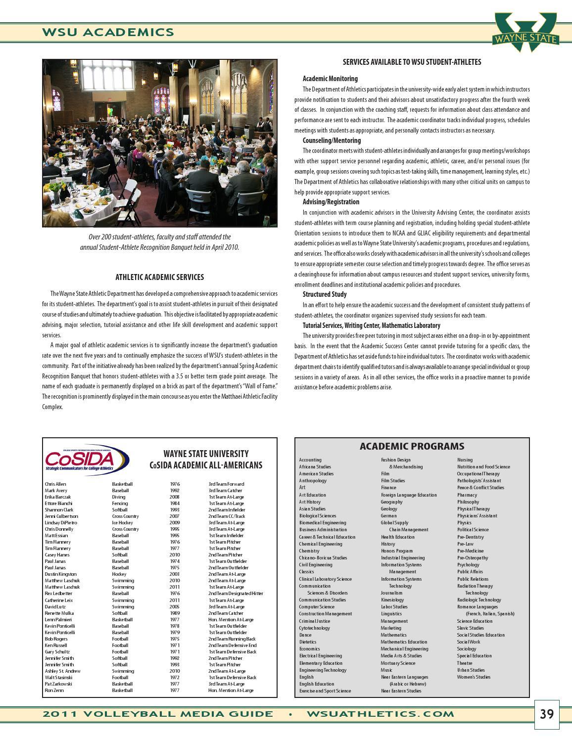 2011 Wayne State University Volleyball Media Guide By Wayne State University Warriors Issuu