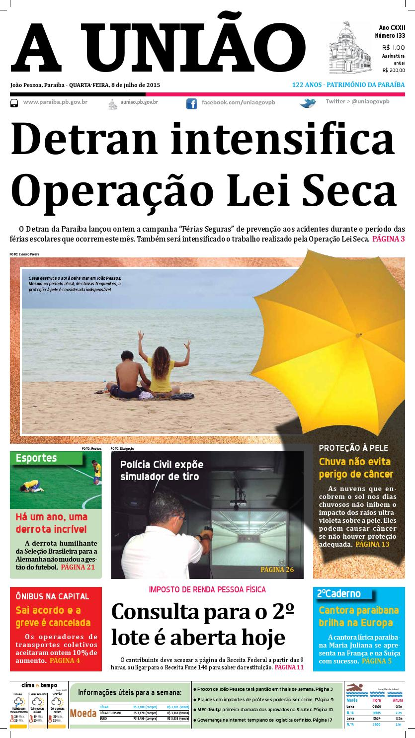 Jornal A União - 08 07 2015 by Jornal A União - issuu bbcc82d0e4