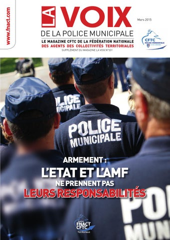 la voix cftc de la police municipale by fnact cftc issuu