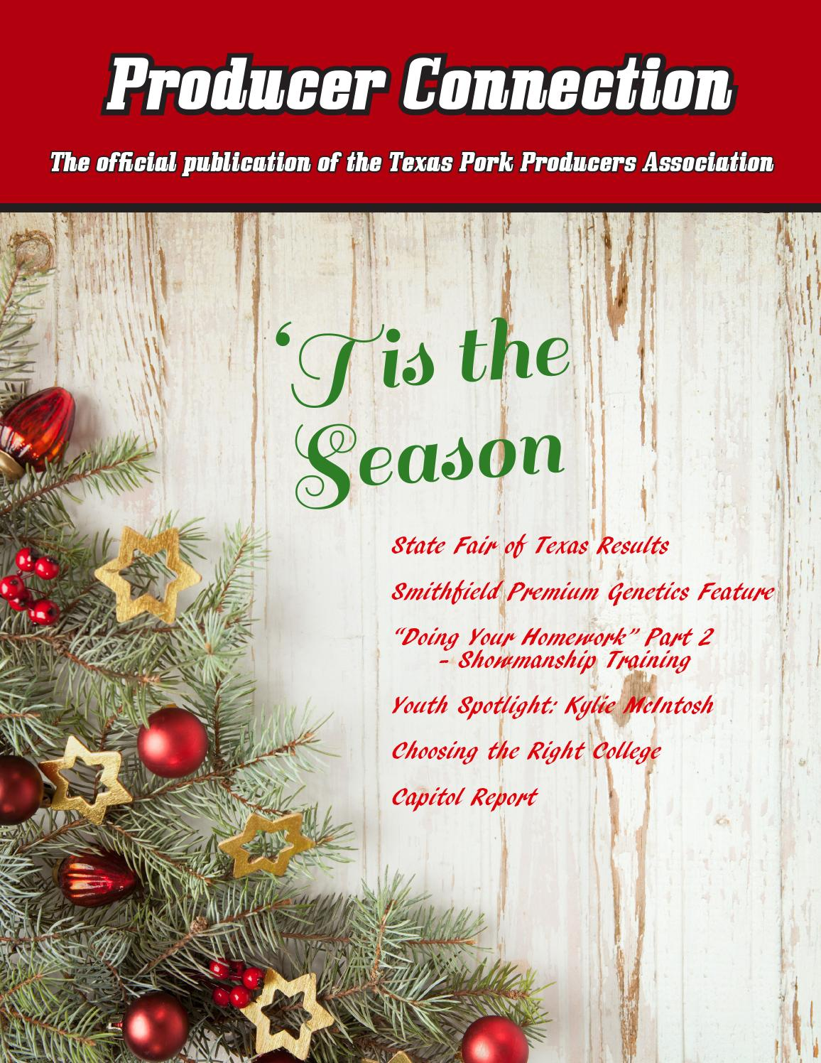 December producer connection by texas pork producers association issuu m4hsunfo
