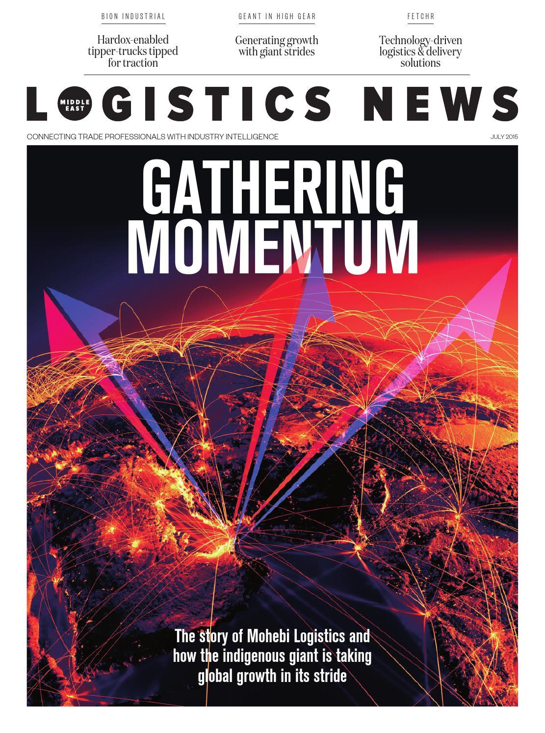 Logistics News ME - July 2015 by BNC Publishing - issuu