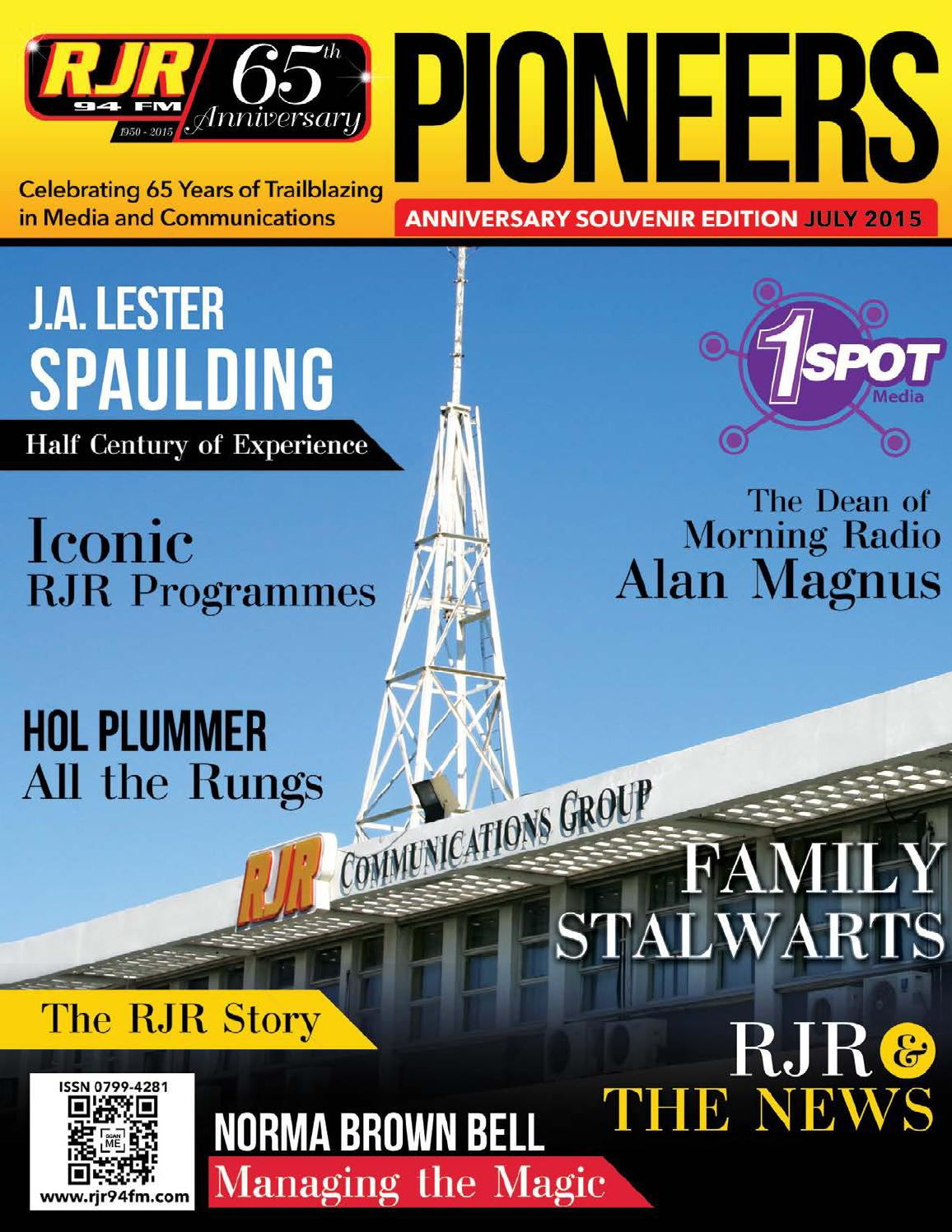 RJR 65th Anniversary Magazine by House of the Arts - issuu