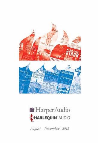 Harperaudio Titles From Blackstone Audio Aug Nov 2015 By