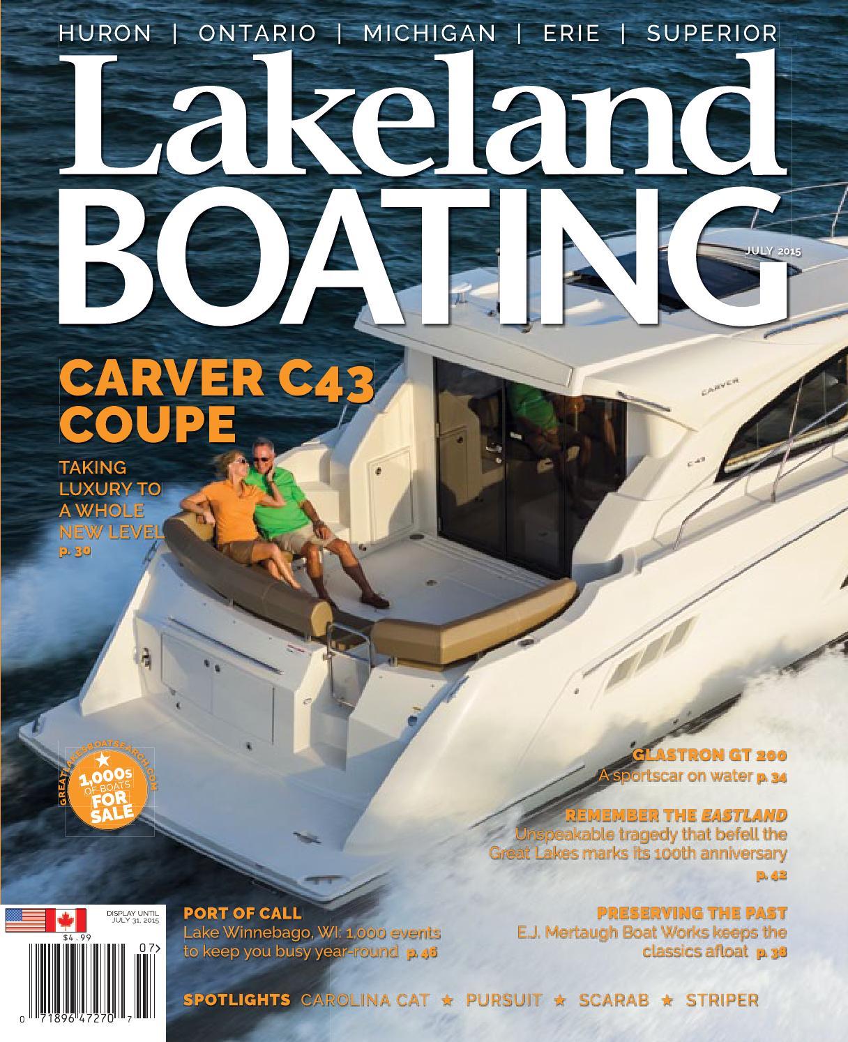july 2015 by lakeland boating magazine issuu  rinker 270 fiesta vee manual meat.php #10