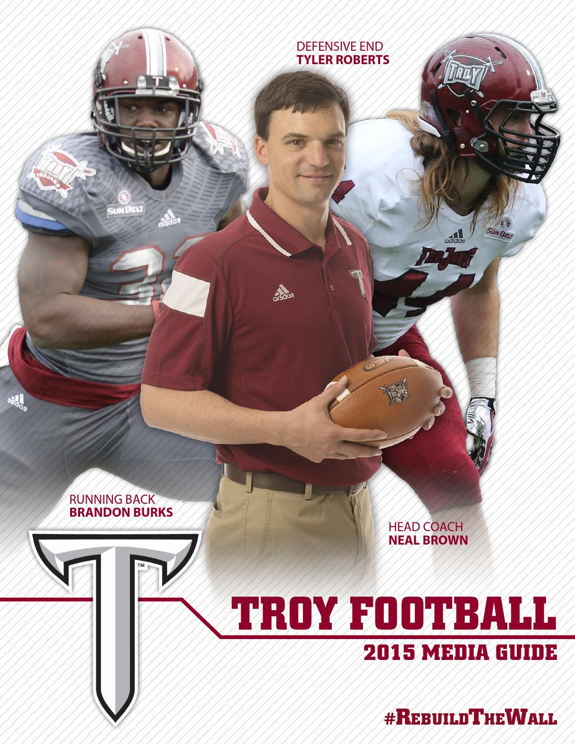 3936293f424 2015 Troy Football Media Guide by Troy University Athletics - issuu