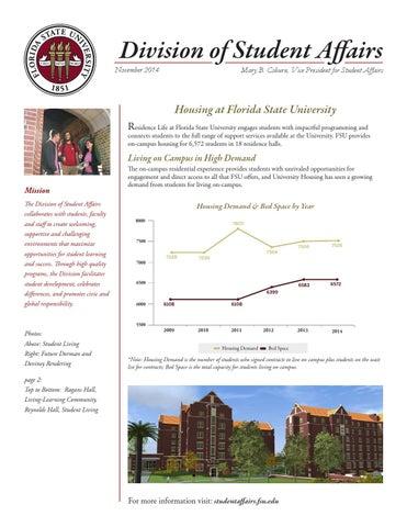 Housing & Residence Life Highlights - November 2014 by