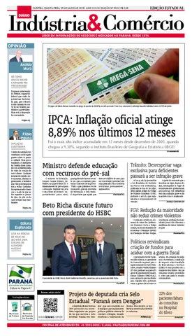 Diário Indústria Comércio - 09 de julho de 2015 by Diário Indústria ... 905453bc8c3ad