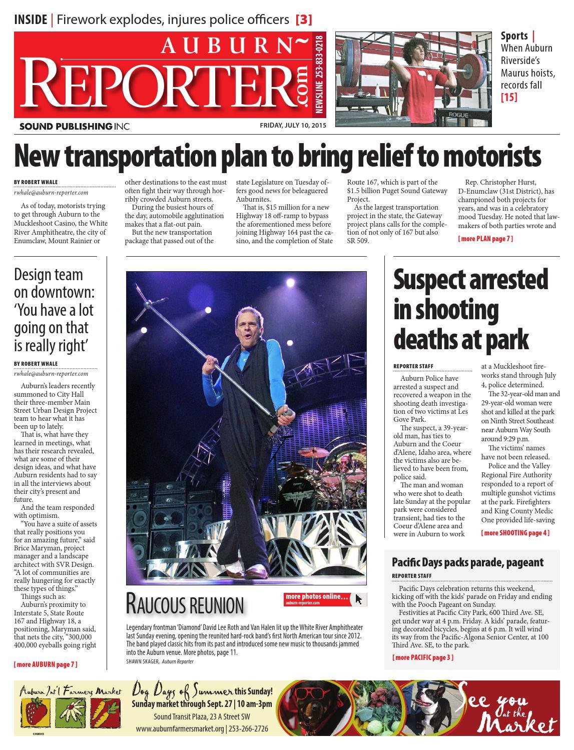 Auburn reporter july 10 2015 by sound publishing issuu