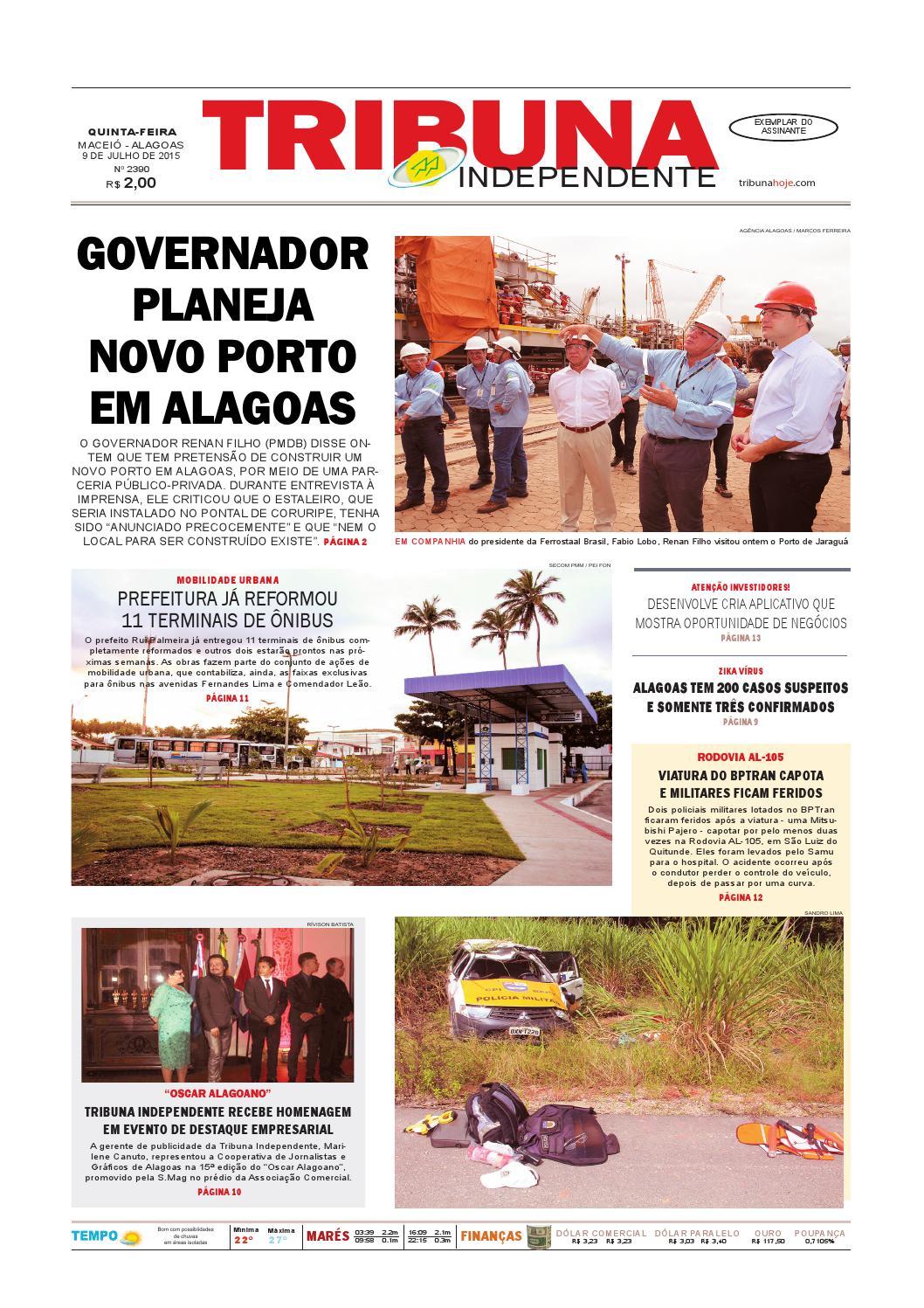d92613592 Edição número 2390 - 9 de julho de 2015 by Tribuna Hoje - issuu