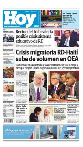 318ad01b13 Periódico jueves 09 de julio, 2015 by Periodico Hoy - issuu