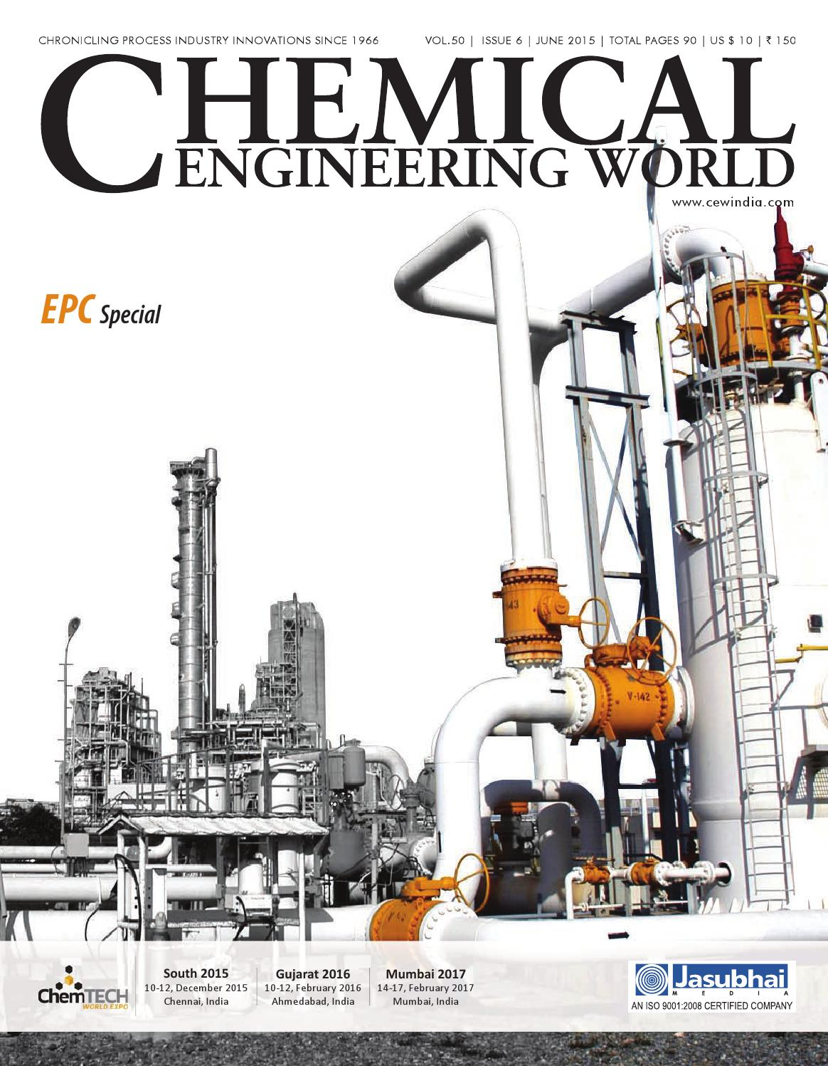 June 2015 By Chemical Engineering World Issuu Wiring Harness Manufacturers In Gurgaon
