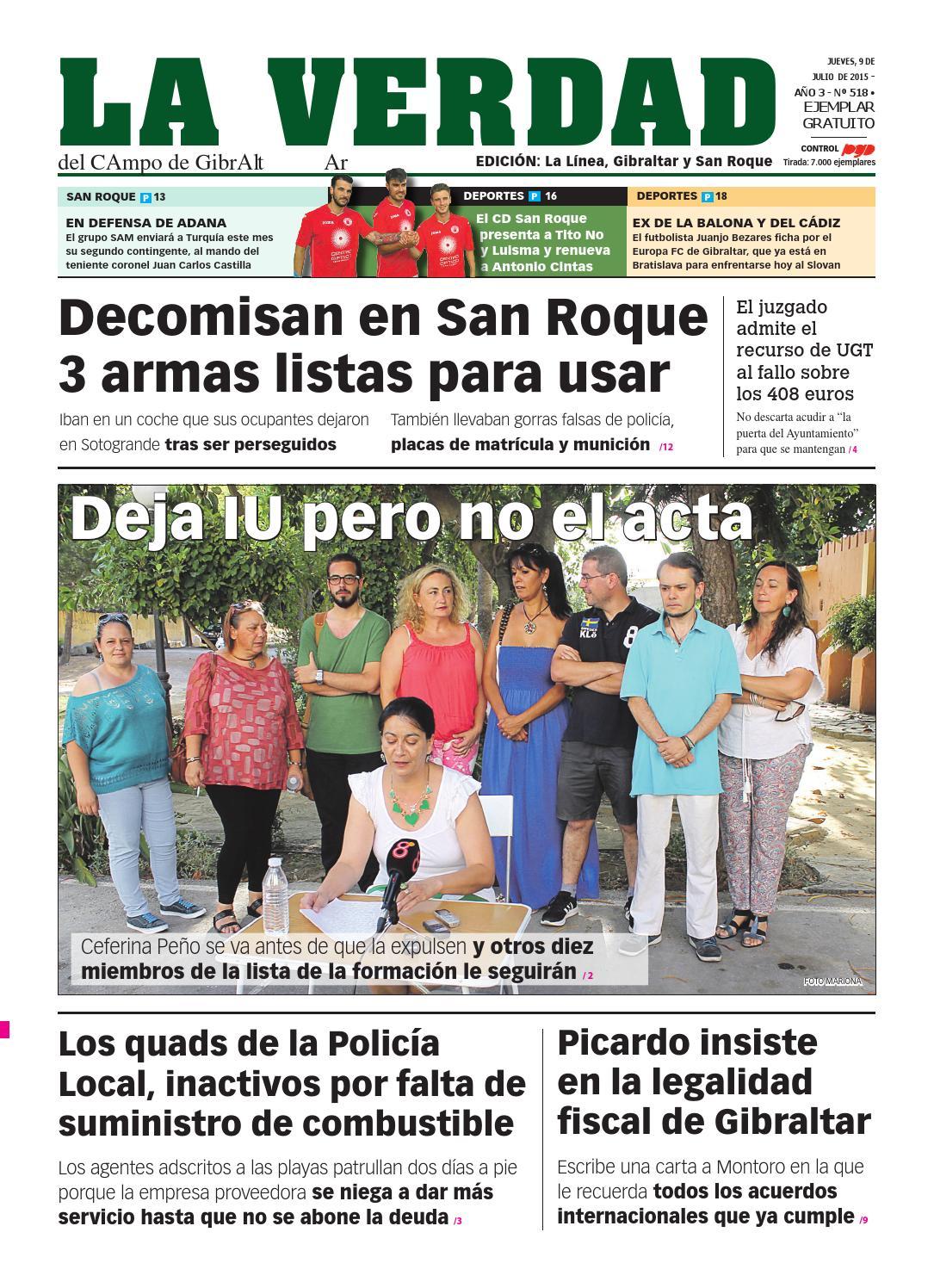 Actriz Porno Nacida En Gibraltar la verdad la línea 9 julio de 2015la verdad del campo de