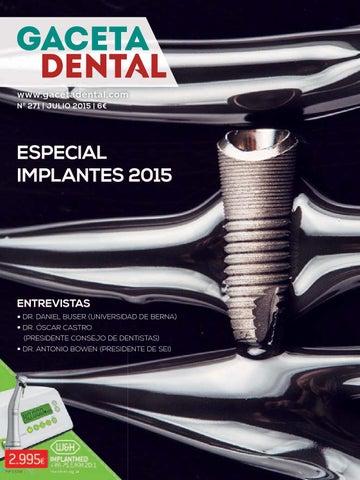 f482ad91c Gaceta Dental - 271 by Peldaño - issuu