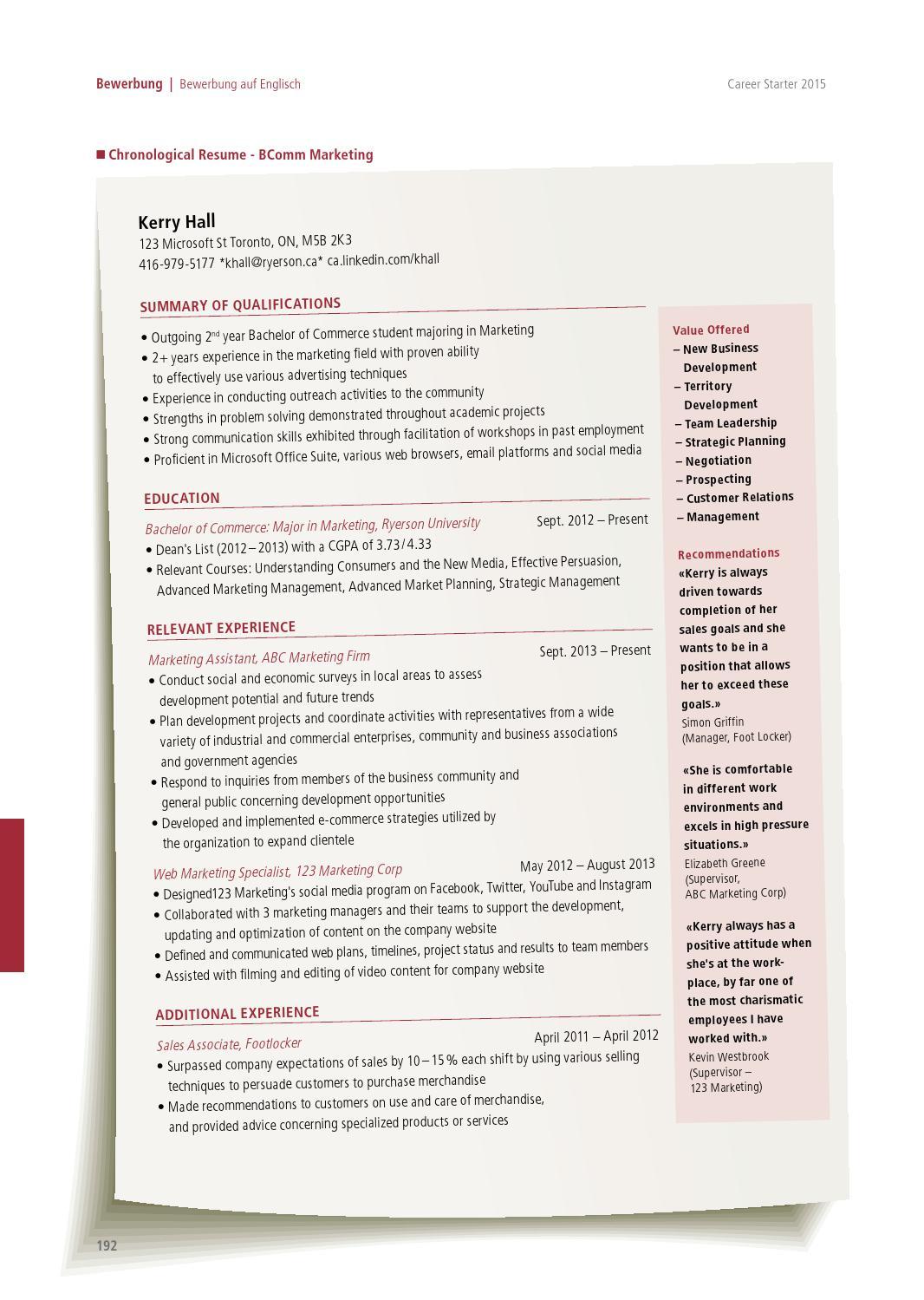 career starter nr19 deutsche ausgabe 2015 by together ag issuu - Ca Bewerbung