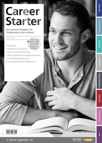 Career Starter - Nr.19 - Deutsche Ausgabe - 2015 by together ag - issuu