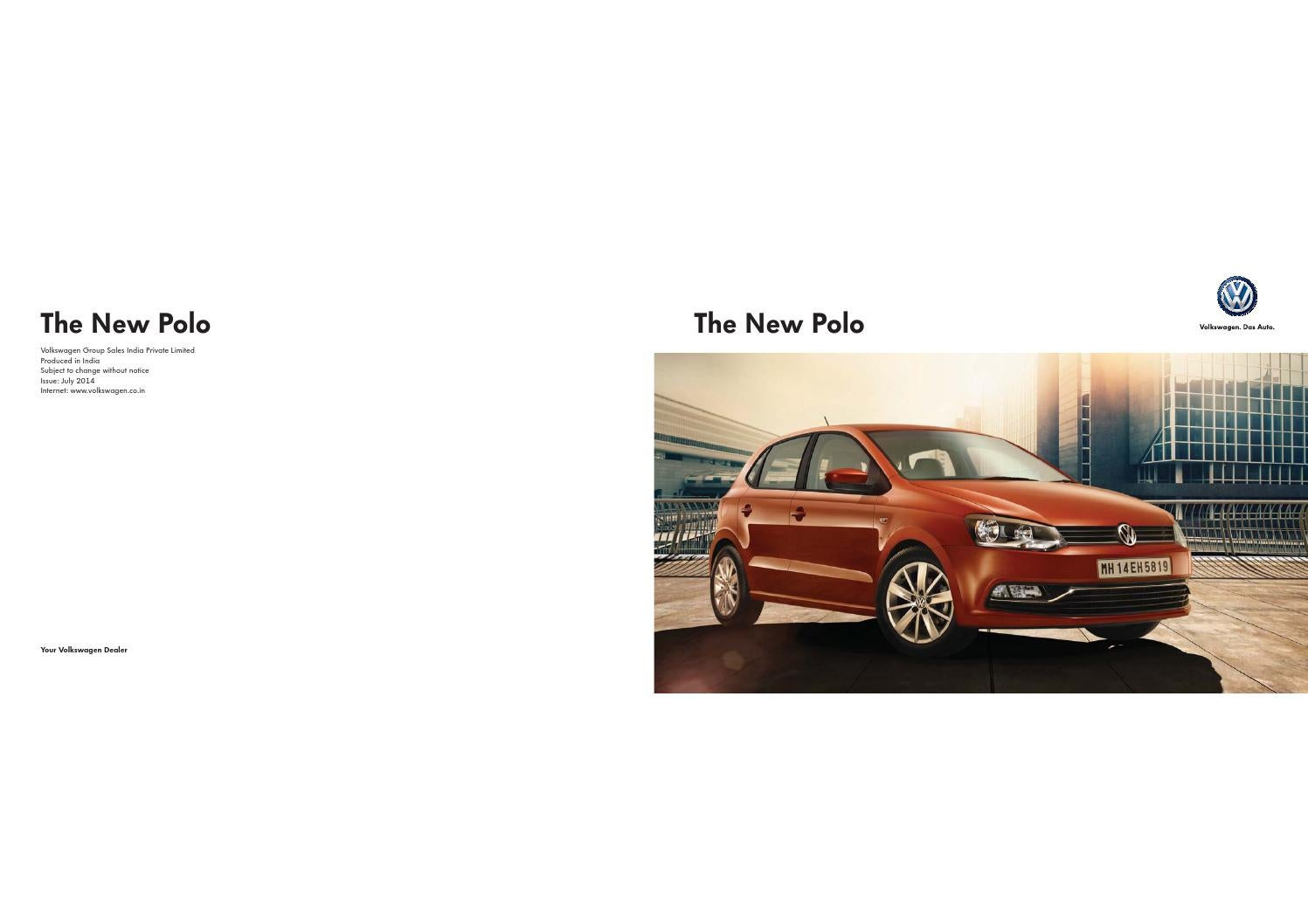 Volkswagen Polo Brochure By Rushlane Issuu
