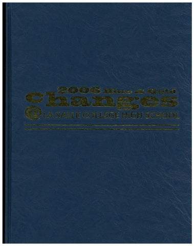 f5637f073193e 2006 Yearbook by La Salle College High School - issuu