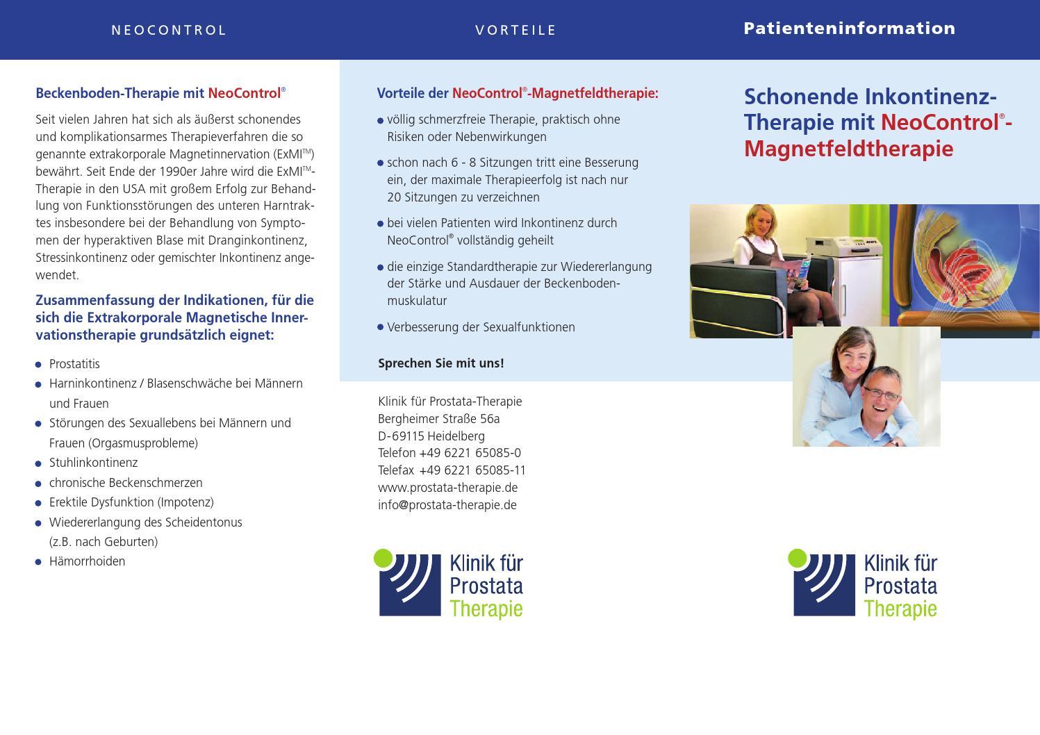 klinik für prostata therapie heidelberg