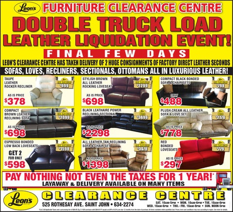 Clearance Center July 11th By Leons Sj Issuu