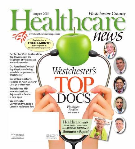 Westchester Healthcare News August 2015 ebook by Belsito