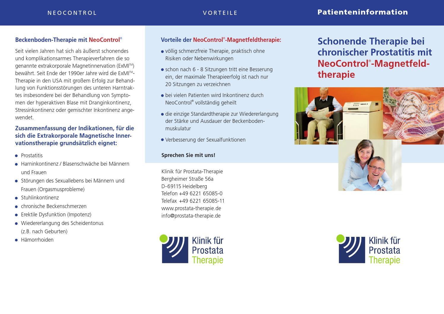 Wichtige Informationen für den Patienten