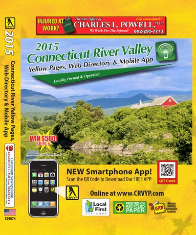 River Valley Auto >> 2015 Connecticut River Valley Yellow Pages By Mason
