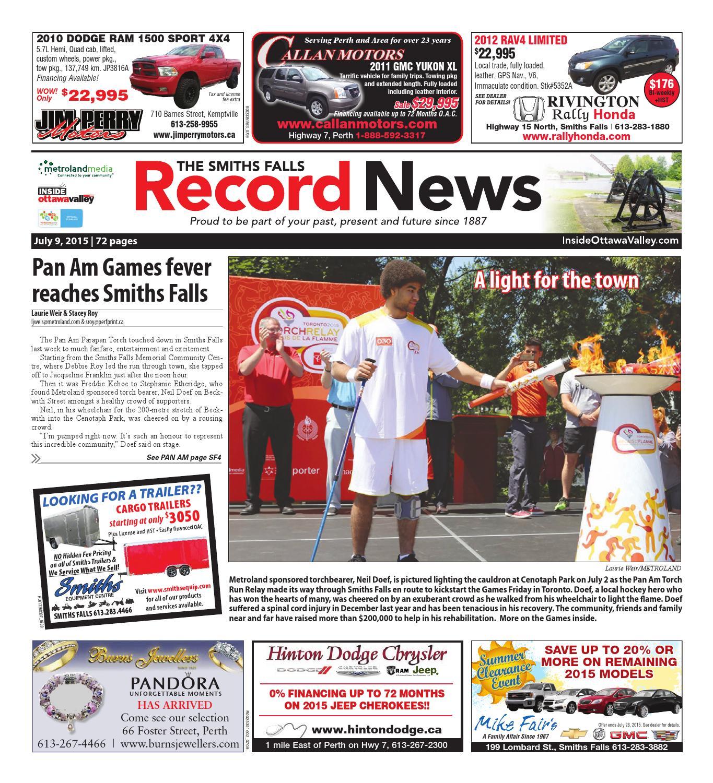 1136f908bafb Smithsfalls070915 by Metroland East - Smiths Falls Record News - issuu