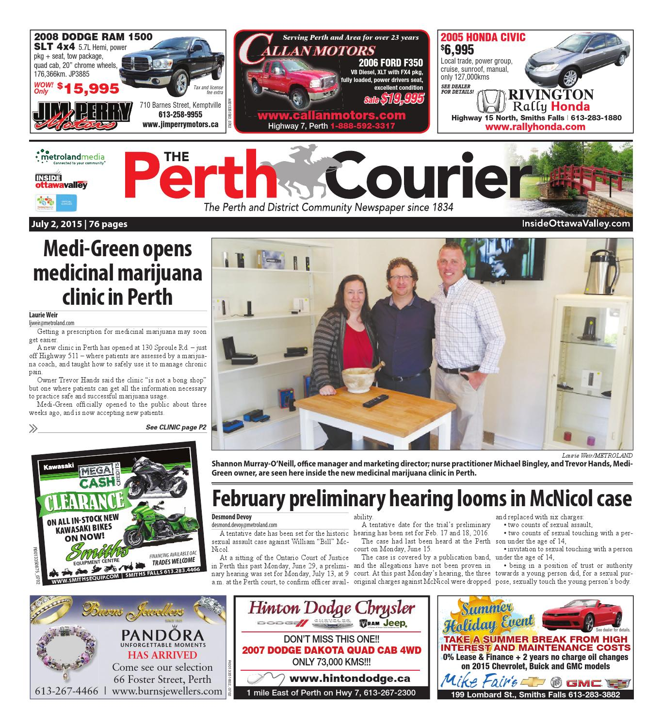 Perth070215 by Metroland East - The Perth Courier - issuu