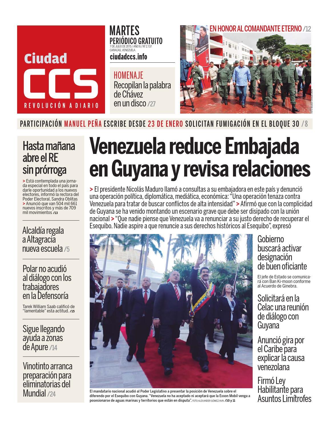7f77ff5336a4 07 07 15 by Ciudad CCS - issuu