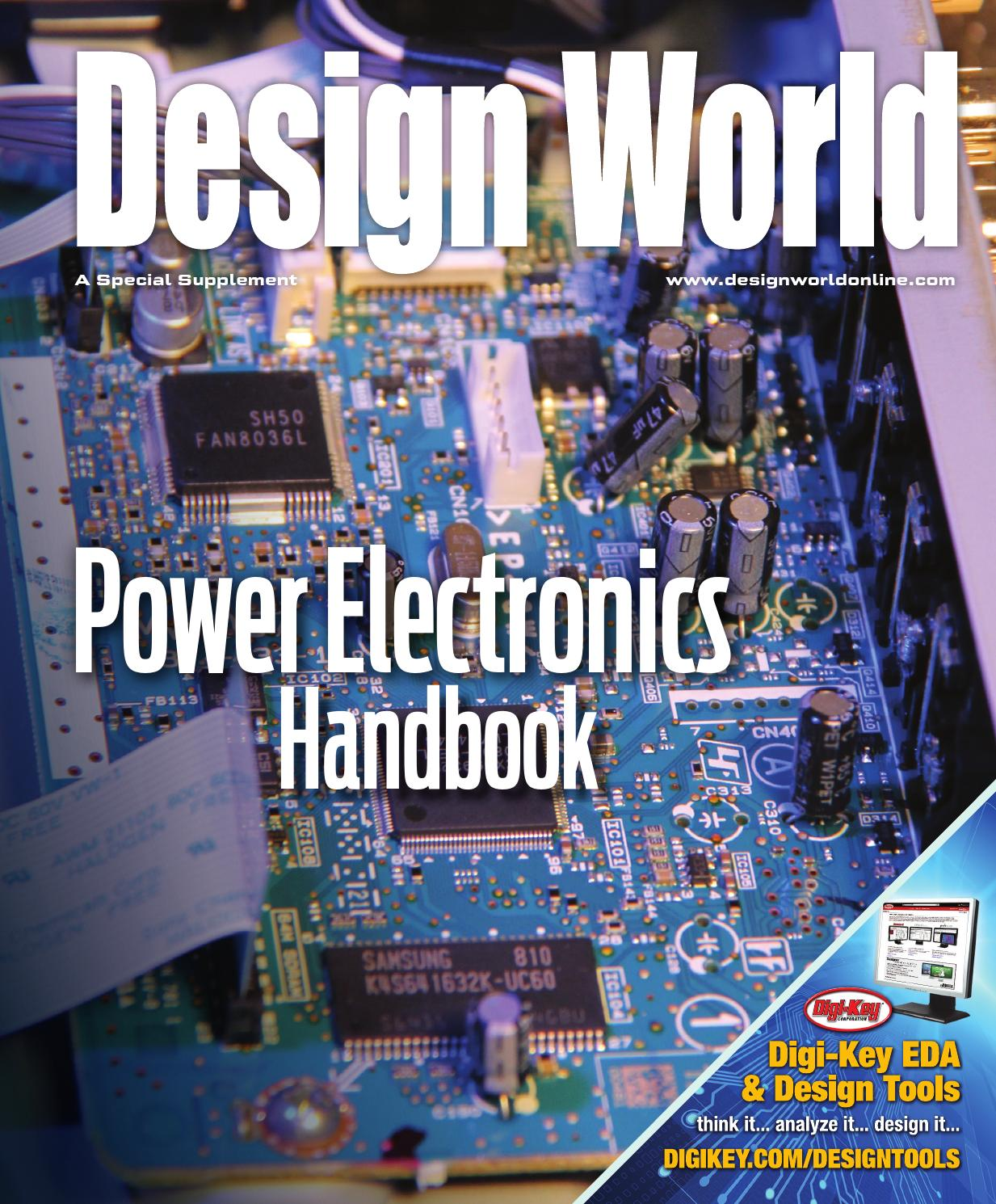 Design World Ee Network Power Electronics Handbook By Wtwh Media Electronic Shock Sensor Free Circuits 8085 Projects Llc Issuu