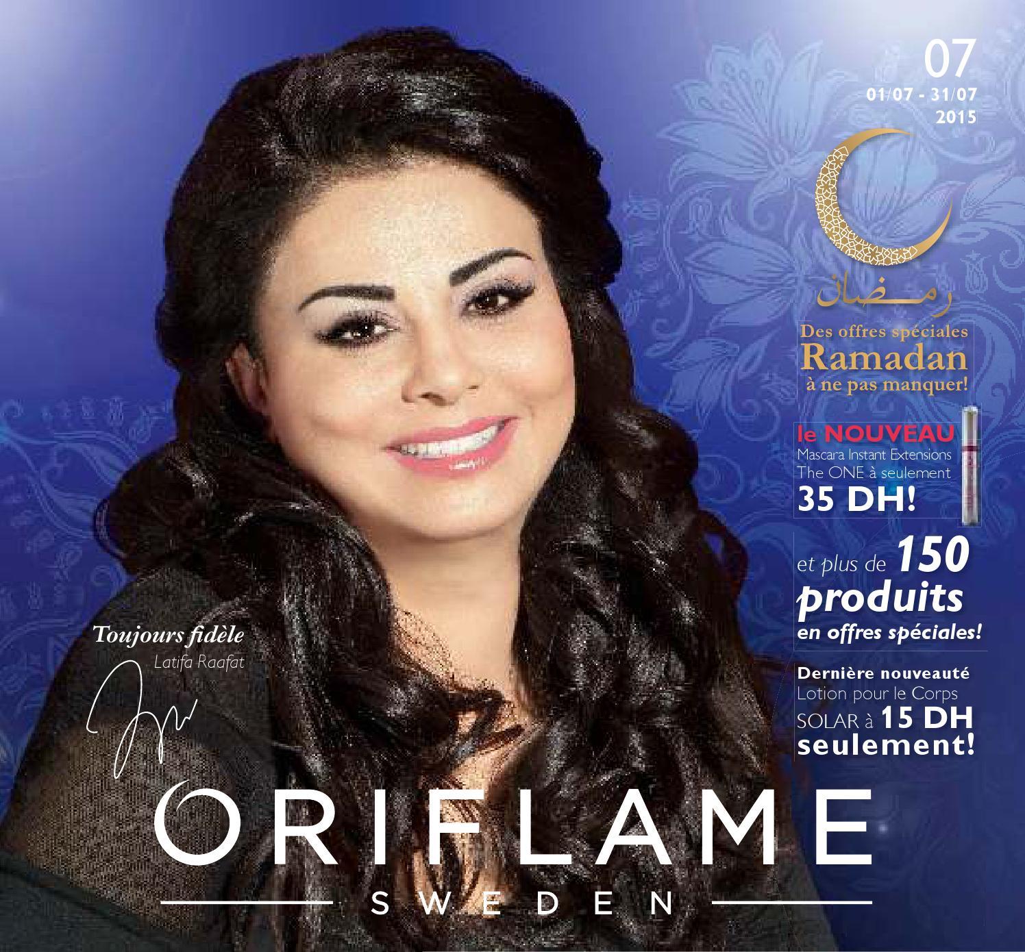 Catalogue Oriflame Maroc 07 2015 By Lb Z Issuu